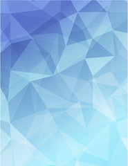 blue polygon geometric abstractbackground