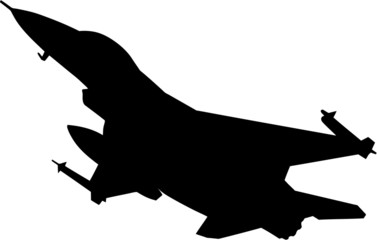 Fighter silhouette