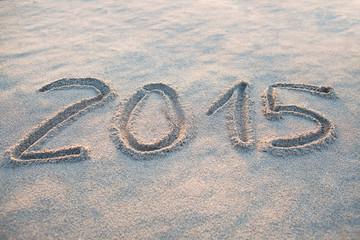 2015 in Sand geschrieben