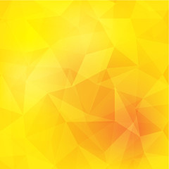 yellow polygon geometric abstract background
