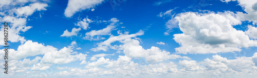 Staande foto Hemel blue sky background with clouds