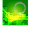 Elegant technical abstract green background