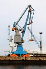 Kran Hafen Hamburg