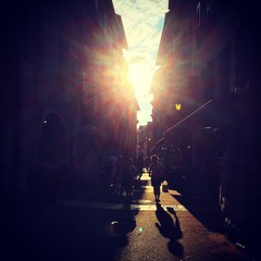 sunlight in annecy street