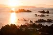 canvas print picture - Abendstimmung in Norwegen