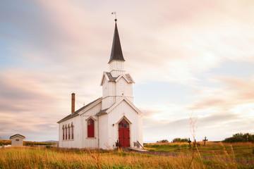Kirche Nesseby in Norwegen