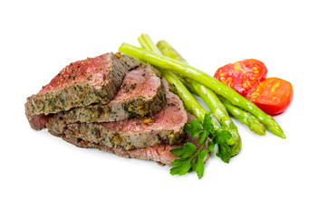 Beef steak medium roast