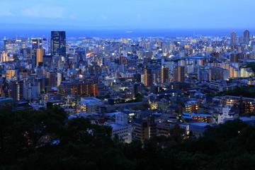 神戸の街明かり