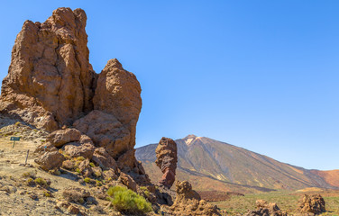 Teide volcano with the Roques de Garcia rock formation