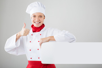 female cook