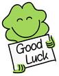 Постер, плакат: Good luck