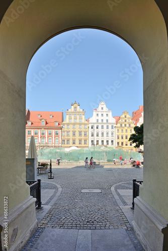 Market square, Wroclaw, Poland © whitelook