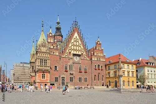 Market square, Wroclaw, Poland - 68634098