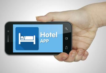 Hotel app. Phone