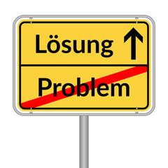 Schild Problem Lösung