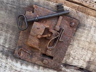 L'ingranaggio della vecchia serratura