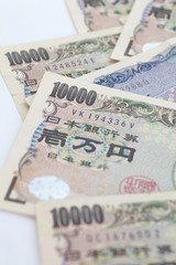 Japanese currency  bank notes