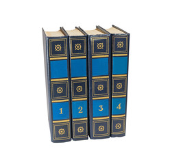 Four book volumes
