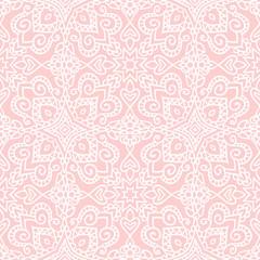 Pink folk pattern