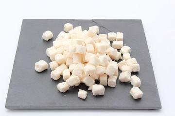 cubes de noix de coco