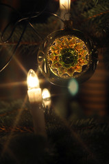 Kugeln am Weihnachtsbaum
