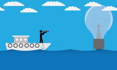 Search for idea