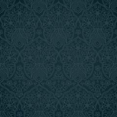 Vintage seamless pattern in Eastern style.