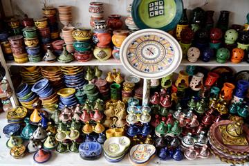 Ceramic souvenirs.
