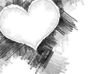 Heart pancil 26
