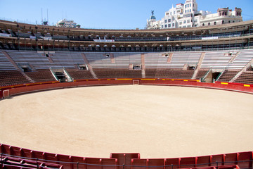 Bullfight Arena, Valencia, Spain