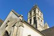 canvas print picture - alte Kirche in Orbec, Frankreich