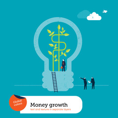 Money Plant Bulb