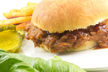 Pulled Pork Sloppy Joe