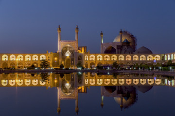 The Shah Mosque in Isfahan Iran