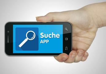 Suche app. Mobil