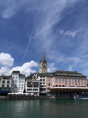 Zürich, St Peter Turm