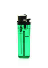 Lighter green on a white background