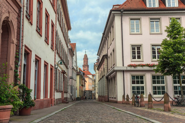 europe town at Heidelberg city, Germany