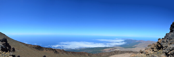 Panorama von Teide