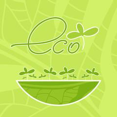 product eco emblem green