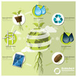 Ecology And Environment Infographic Element