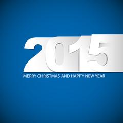 Original Vector New Year 2015 card / illustration