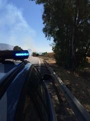 Viabilità per incendio autostradale
