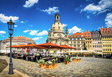 The ancient city of Dresden, Germany. - 68647250