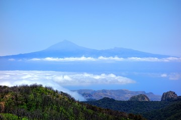 Teide from Garajonay