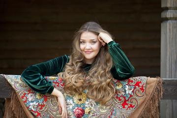 Russian beauty woman