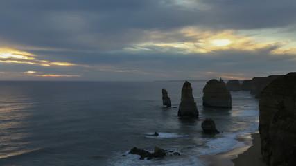 Timelapse 12 Apostles in Australia