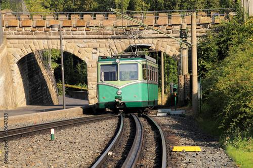 Drachenfelsbahn zwischen Königswinter und Drachenfels - 68647838