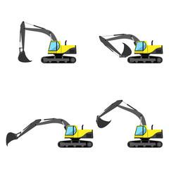 Сaterpillar excavator
