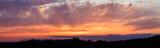 Panoramic photo of vibrant sunset - 68650000